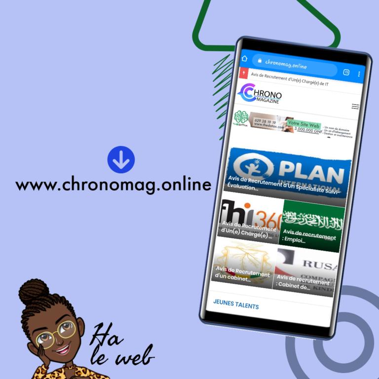 Projet Chrono-Magazine