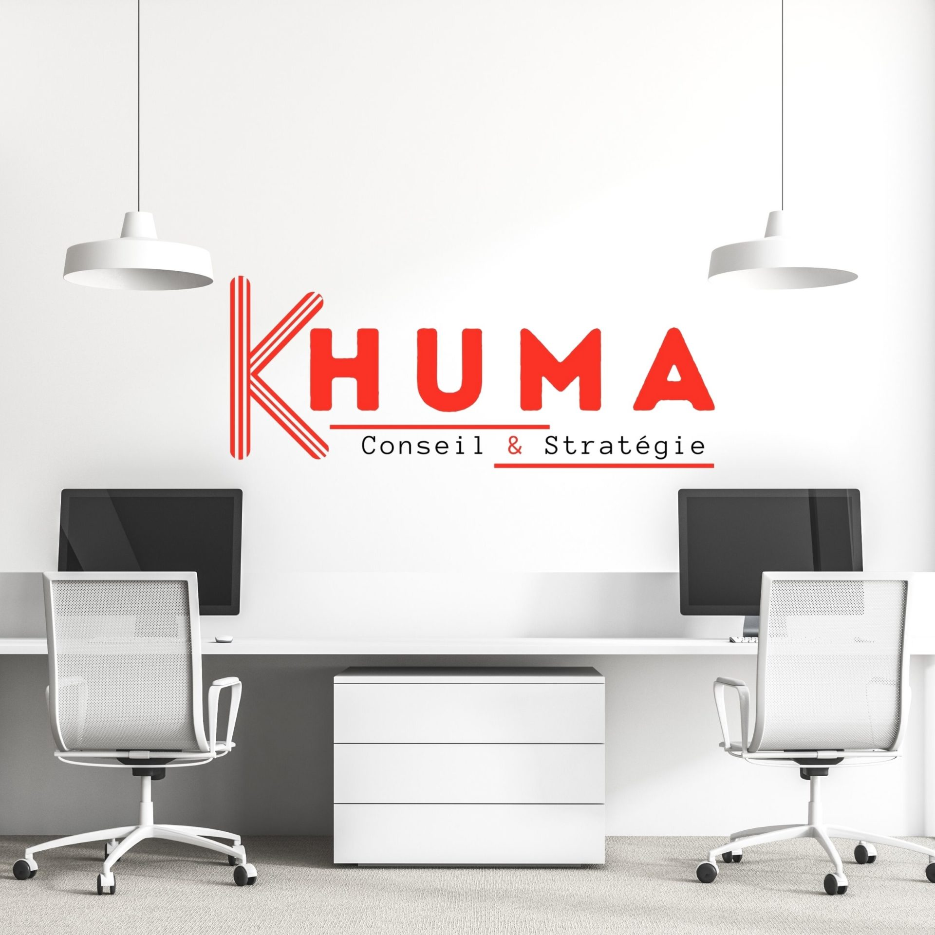 Conception Logo KHUMA Conseil