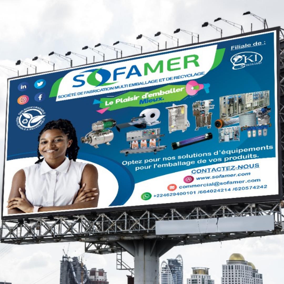 Affiche Grand Format Sofamer