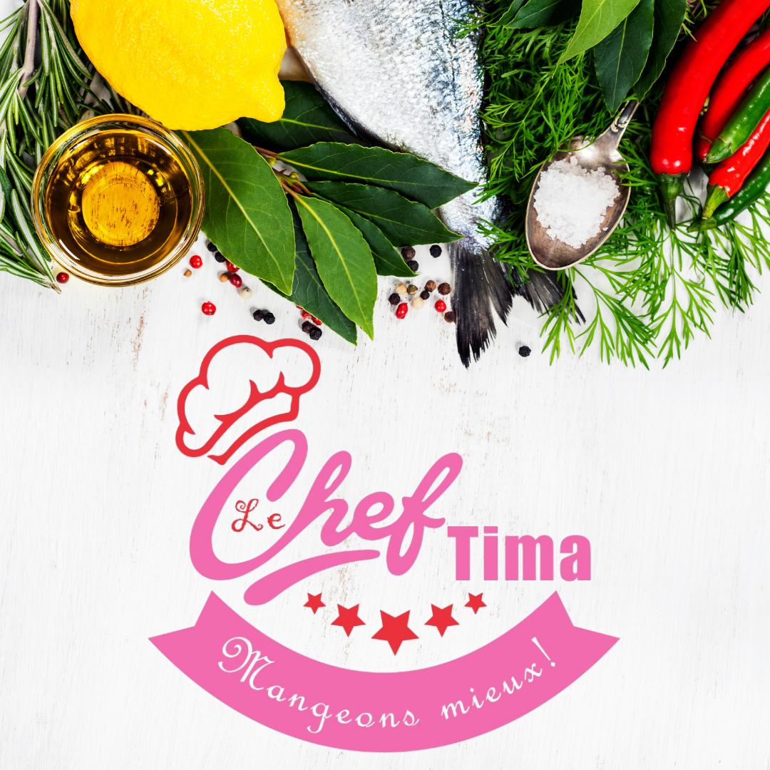 Conception Logo LE CHEF TIMA