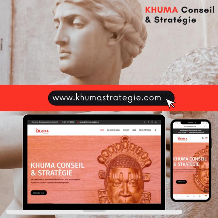 Projet KHUMA Conseil & Stratégie